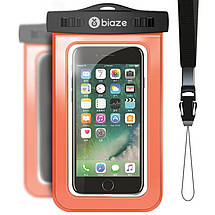 """Чехол водонепроницаемый Biaze Waterproof для мобильных телефонов до 5.8\"""", фото 3"""
