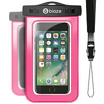 """Чехол водонепроницаемый Biaze Waterproof для мобильных телефонов до 5.8"""", фото 3"""