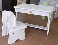 """Детский столик """" Растишка Белый """""""