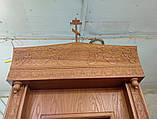 Напольный киот резное дерево 3.1м (для храма в Испании), фото 6