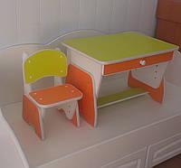 "Дитячий столик "" Растишка Апельсин/Лайм """