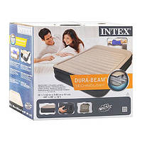 Кровать надувная двуспальная Dura-Beam INTEX 64404
