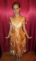 Красивое платье с поясом для девочки прокат в Харькове, фото 1