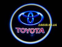 Проектор логотипу Toyota в автомобільні двері Тойота