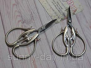 """Ножиці для рукоділля """"Око дракона"""", колір - срібло"""