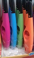 Зажигалка газовая  разноцветная