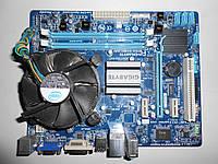 Gigabyte GA-G41MT-D3V(Ver.1:3) Socket 775 + Core 2 Duo E6300 Box - в идеале!!!
