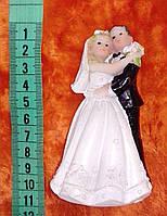Свадебная фигурка для свадебного торта 10 см (19)