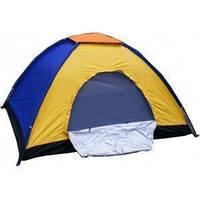 Туристическая палатка 4-местная 2х2м