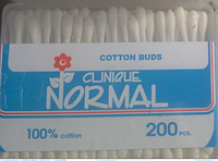 Ватные ушные палочки Normal clinique 200 штук