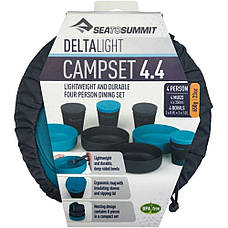 Набор посуды Sea To Summit DeltaLight Camp Set 4.4, фото 3