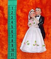 Свадебная фигурка для свадебного торта 10 см (16)