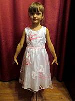 Лёгкое нарядное платье для праздника или утренника, прокат в Харькове, фото 1