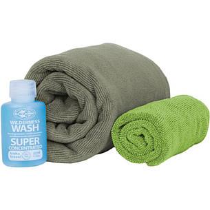 Набор полотенец Sea To Summit Tek Towel Wash Kit L + туристическое мыло, фото 2