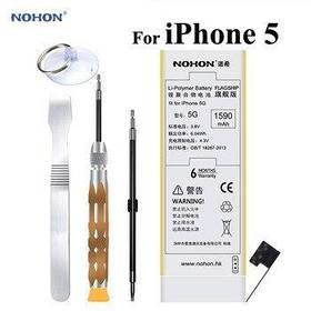 Аккумулятор Nohon 616-0610 для Apple iPhone 5 (емкость 1590mAh)