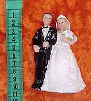 Свадебная фигурка для свадебного торта 10 см (15)
