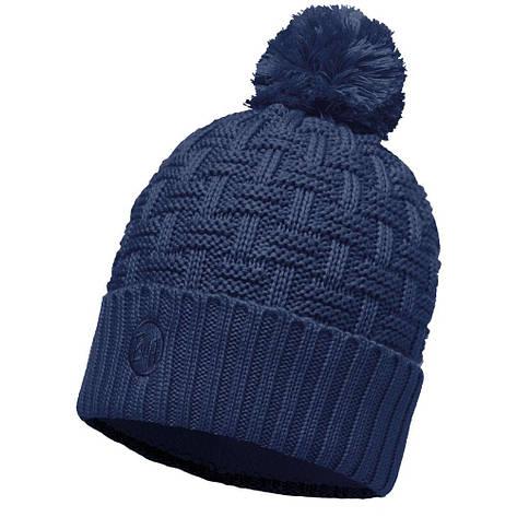 Шапка Buff Knitted & Polar Hat Airon, Dark Denim, фото 2