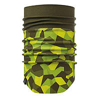 Повязка на шею Buff Windproof Neckwarmer, Block Camo Green