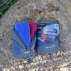 Набір рушників міні Sea To Summit Tek Towel 2 Washcloths, фото 3