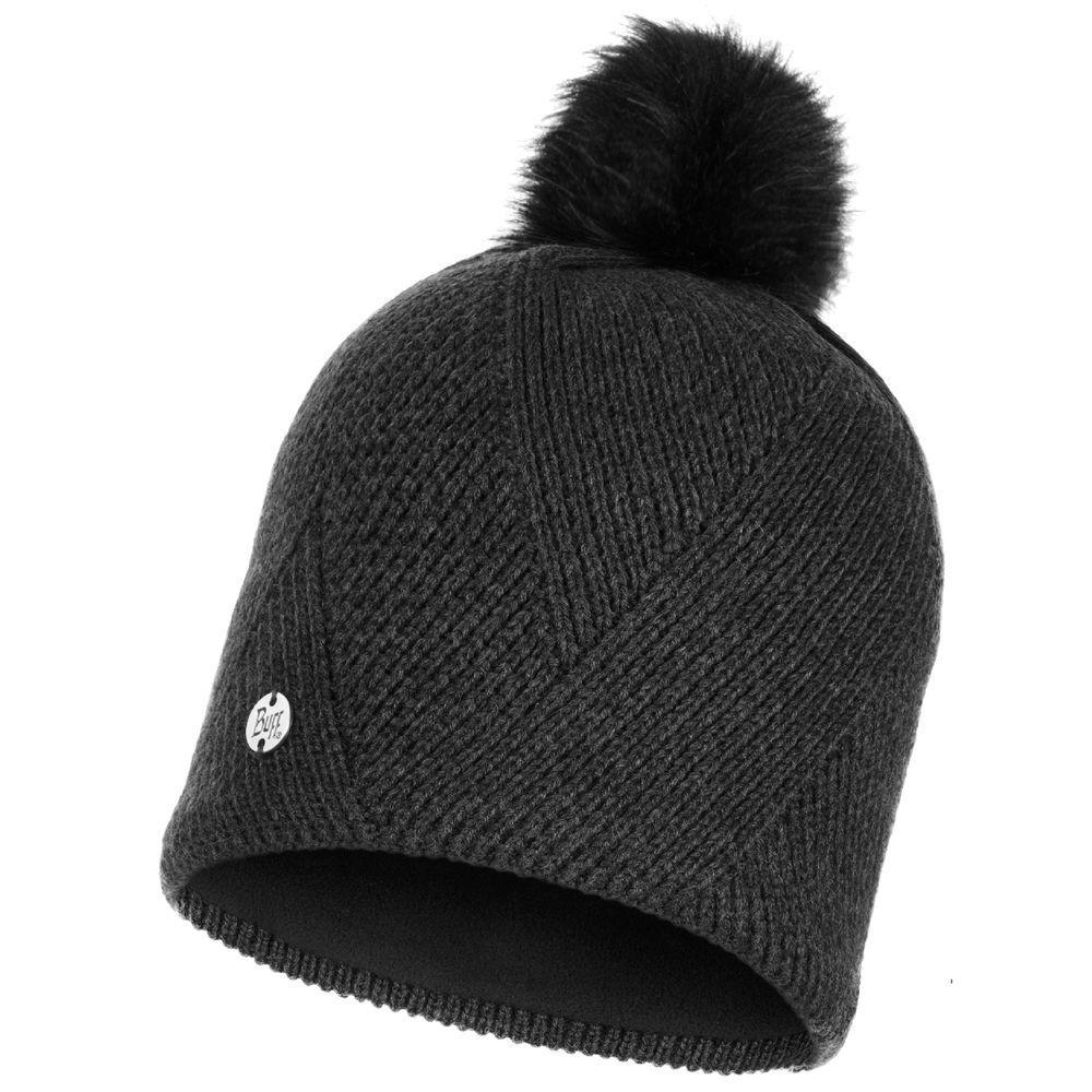 Шапка Buff Knitted & Polar Hat Disa, Black