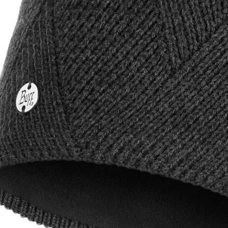Шапка Buff Knitted & Polar Hat Disa, Black, фото 2