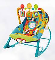 Кресло качалка,  Fisher-Price , Dark Safari