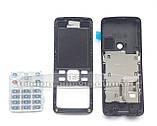 Корпус Nokia 6300, серебристый, копия ААА, с клавиатурой, фото 2