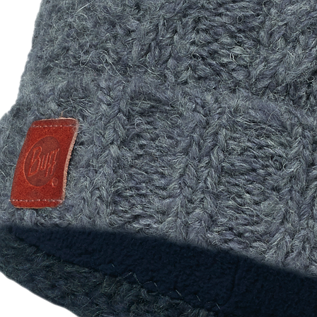 Шапка Buff Knitted & Polar Hat Amby Seaport Blue/navy, фото 2