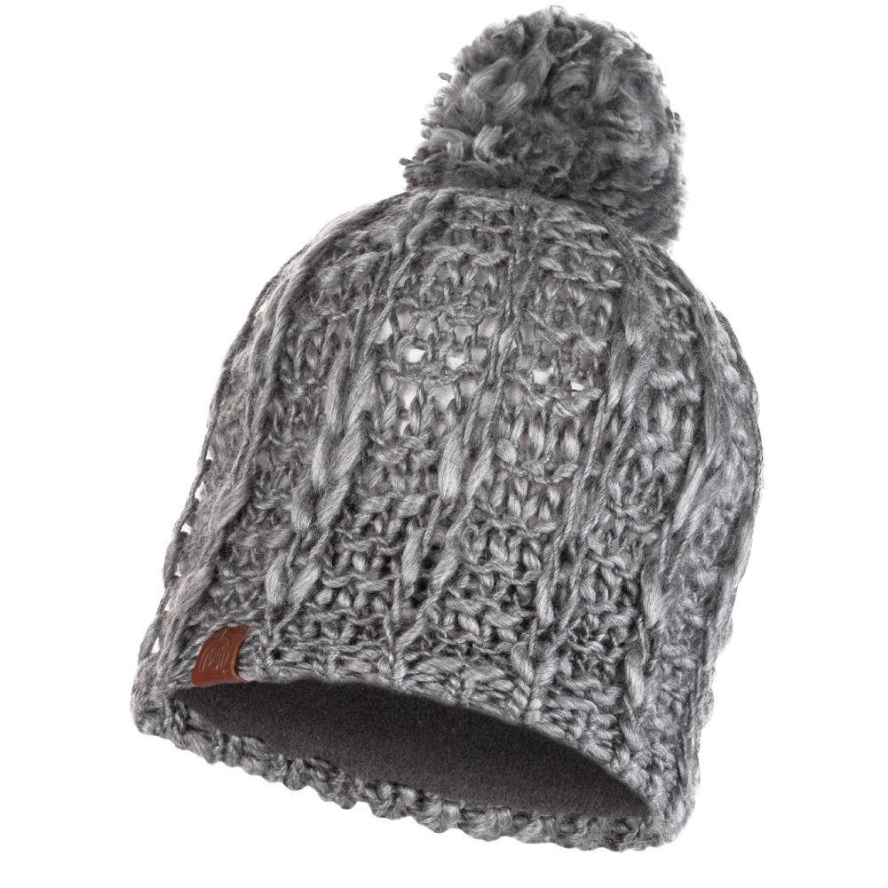 Шапка Buff Knitted & Polar Hat Liv, Pebble Grey
