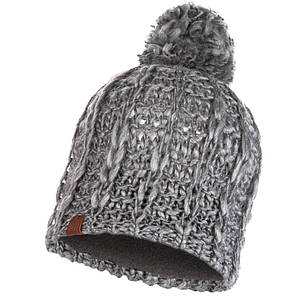 Шапка Buff Knitted & Polar Hat Liv, Pebble Grey, фото 2