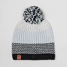 Шапка Buff Knitted & Polar Hat Borae, Grey, фото 2