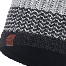 Шапка Buff Knitted & Polar Hat Borae, Grey, фото 3