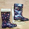 Утеплювач-вставка для жіночих чобіт (штучне хутро). 36 р. Утеплитель-вставка для женских резиновых сапог (мех), фото 4