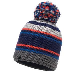 Шапка Buff Knitted & Polar Hat Dorian, Blue Ink, фото 2