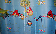 Портьера  светонепроницаемая BLACKOUT ANGRY BIRDS , фото 1