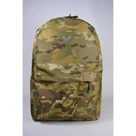 Міський тактичний рюкзак 20 л - камуфляж мультикам (городской тактический рюкзак в милитари стиле Multicam)