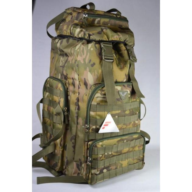 Тактичний рюкзак на 55 літрів камуфляж Multicam (Тактический военный рюкзак мульткам)