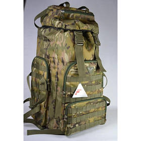 Тактичний рюкзак на 55 літрів камуфляж Multicam (Тактичний військовий рюкзак мульткам)