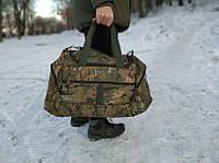 Воєнна дорожня сумка транспортна індивідуальна CARGO на 50 літрів Multicam   Мультикам (транспортная военная)