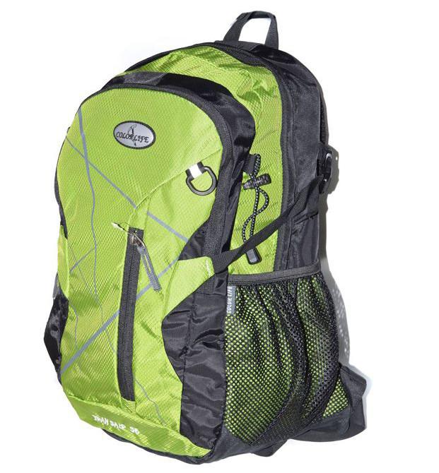 Туристичний рюкзак Color life Green 35 л. Туристический рюкзак Color life Зеленый