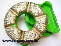 Алмазный инструмент для шлифовки бетона  мозаично-шлифовальной машиной СО-199