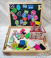 """Магнитно-маркерная доска/игра для детей с пазлом-головоломкой """"Цифры"""""""