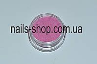 Бледно-розовый бархатный песок