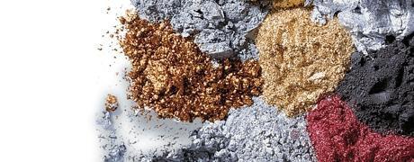 Набор пробников пигментов Перлекс Pearl Ex Перлекс (США) имитация металла,4 штх0,5г, №3