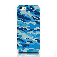 Чехол Military Case iPhone 4 Blue