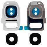Скло камери для смартфонів Samsung G930F, G935F Galaxy S7 Edge, біле