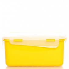 """168041/2  Контейнер пищевой с зажимом Алеана """"Фиеста"""" 0,65 л прямоугольный (оливк), фото 2"""