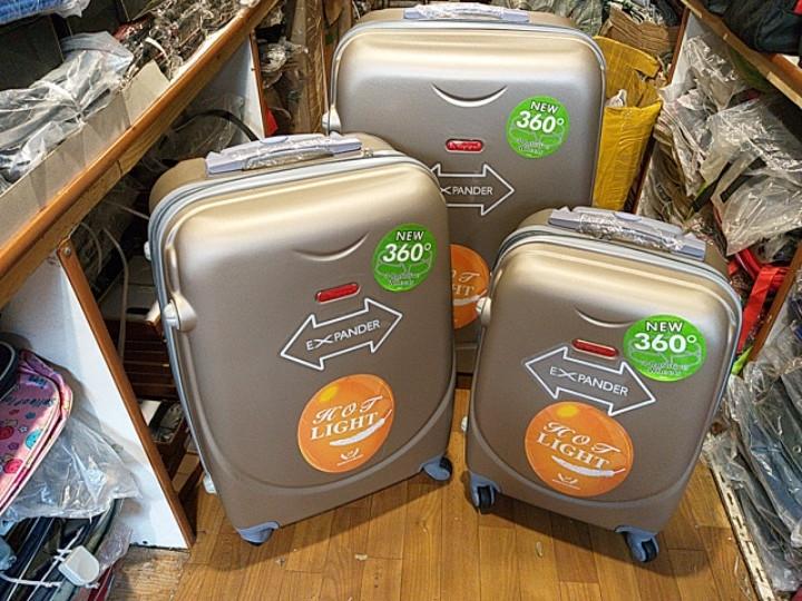 "Чемодан ""3"" комплект из 3 чемоданов"