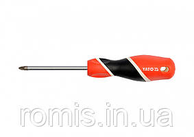 Отвертка крестовая YATO PZ1 х 75 мм
