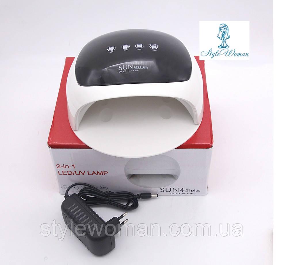 SUN 4S PLUS 52W профессиональная UV-LED Лампа   для сушки ногтей